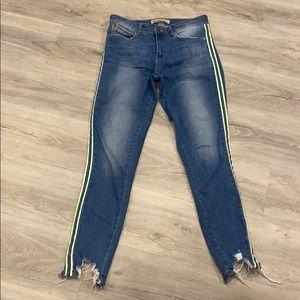 Zara denim skinny jeans size 6